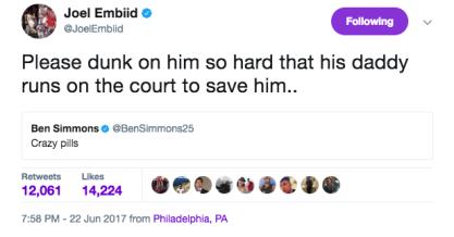 embiid tweet